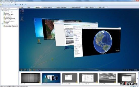 VMware Workstation v8.0 新功能