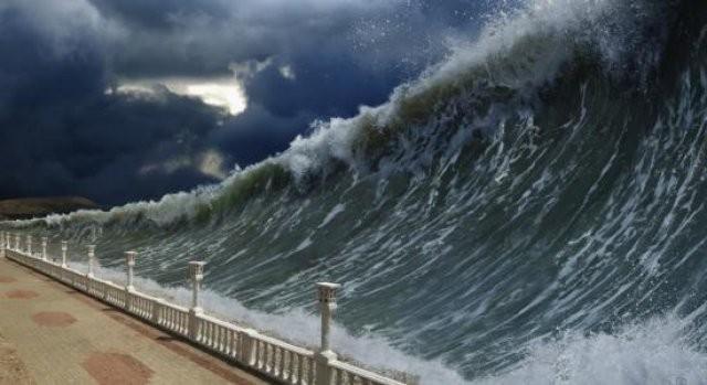 Haverá sinais no sol, na lua e das estrelas. Na terra a aflição e a angústia apoderar-se-ão das nações pelo bramido do mar e das ondas.