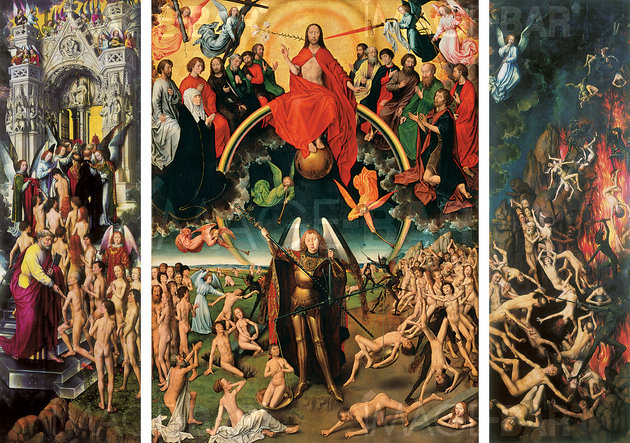 The Last Judgment (central panel of the Triptych of the Last Judgment)
