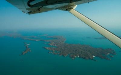 Buccaneer archipel Australie scenic flight