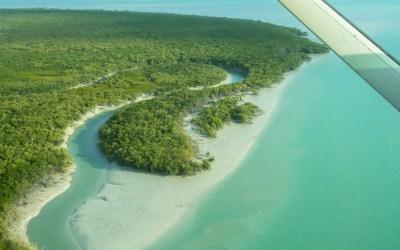 Mangrove strand Broome scenic vlucht