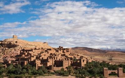Kasbah Ait Ben Haddou Marokko Atlas