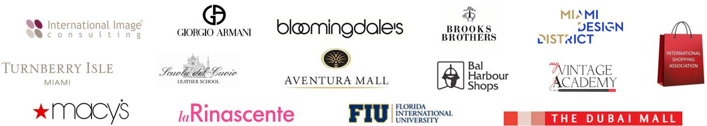 Image Academia International, Fashion Styling, Image Consulting, Retail, Bal Harbour Shops, Aventura Mall, The Dubai Mall, Florida International University, Miami Design District, International Image Consulting, La Rinascente, Shopper Association