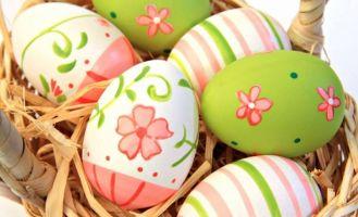Images de pâques - les oeufs décorés