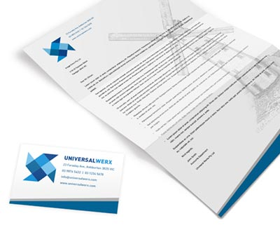 Design Business Stationery and Collateral
