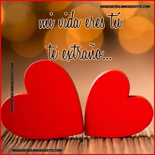 Imágenes De Amor Con Frases Mi Vida Eres Tú