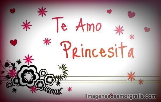 imagenes de amor te amo princesita
