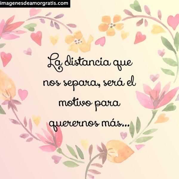 frases amor distancia