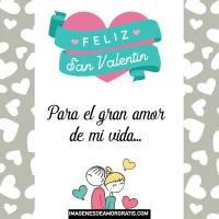Imágenes de Feliz San Valentín con frases