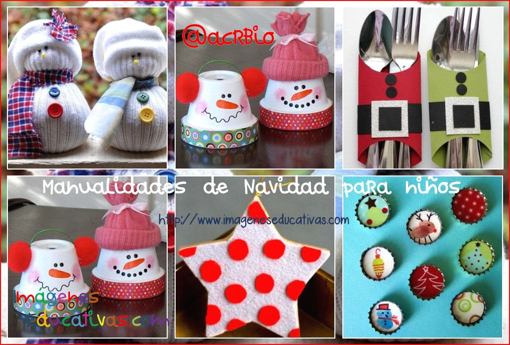 Manualidades navide as para ni os sencillas y divertidas for Manualidades para diciembre