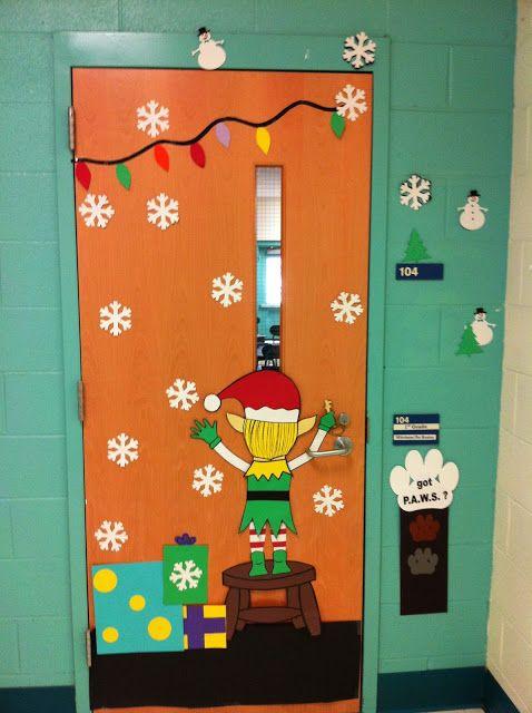 Puertasiii 3 imagenes educativas for Ideas para adornar puertas en navidad