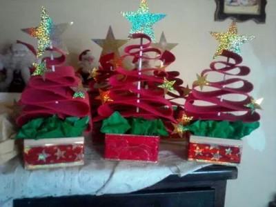 Arboles de Navidad Manualidades IV (2)