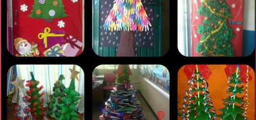 Arboles de Navidad Manualidades IV Collage