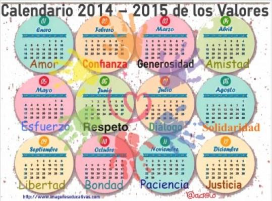 Calendario de los Valores