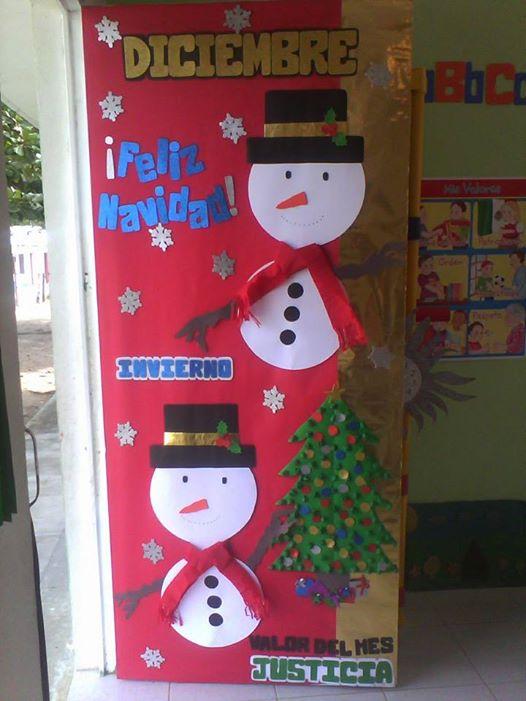 Manualidades navide as puertas 3 imagenes educativas for Puertas navidenas decoradas 2014