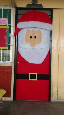 Manualidades navideñas puertas (6)