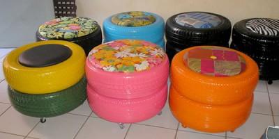 Bonitos Y Divertidos Muebles Infantiles Con Materiales Reciclados