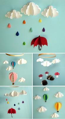 moviles de lluvia
