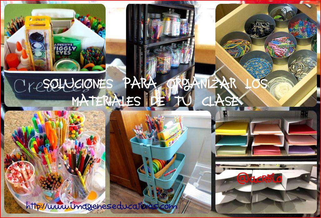 organizacion de clase Collage I - Imagenes Educativas