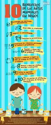 Beneficios de las manualidades creativas para niños 2