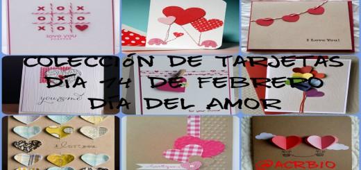 Collage Tarjetas San Valentin Poratada Face