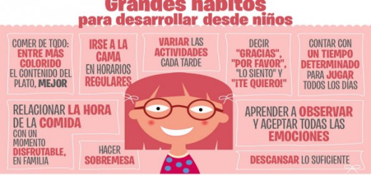 Grandes hábitos para desarrollar desde pequeños en nuestros hijos e hijas Portada