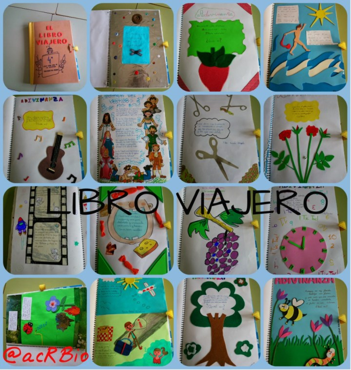 Libro Viajero Collage