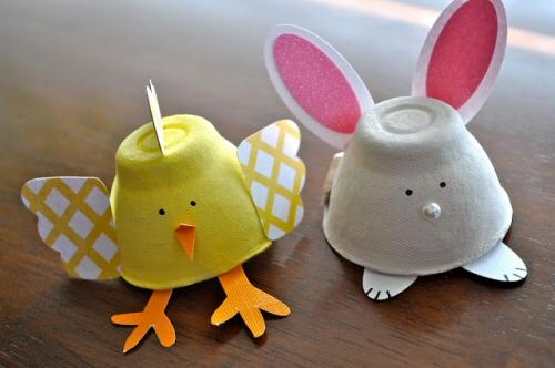 Mas De 20 Manualidades Con Cartones De Huevos Animales