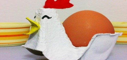 Manualidades con cartones de huevos Collage 1