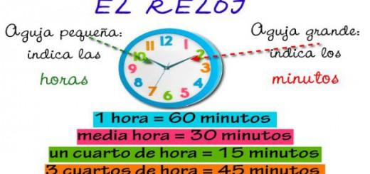 las horas y los minutos portada