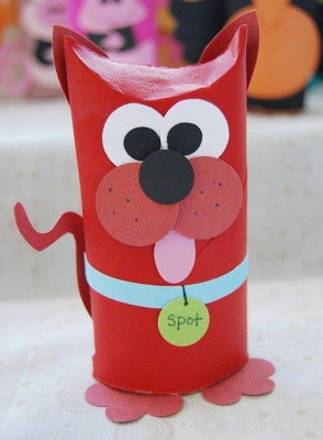 manualidades con rollos de papel higiénico (1)