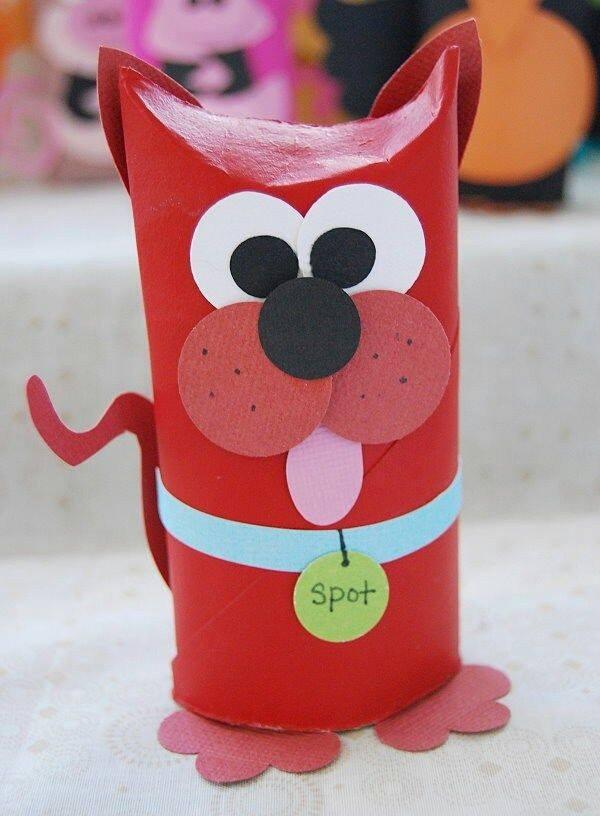 Manualidades con rollos de papel higi nico 1 imagenes - Manualidades con rollos de papel ...