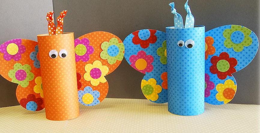 Manualidades Con Rollos De Papel Higienico 11 Imagenes Educativas - Manualidades-con-rollos-papel-higienico