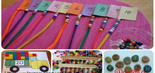 Juegos matemáticos para aprender Collage Portada