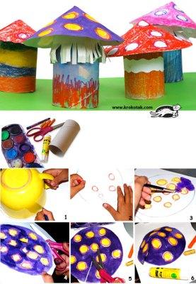 Manualidades con rollos de papel higiénico  (5)