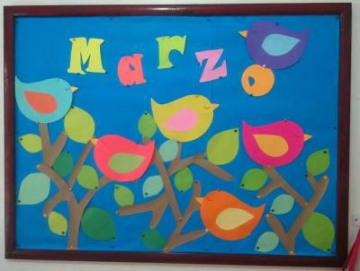 Ideas para decorar el aula en primavera vuestras - Murales pintados en la pared ...