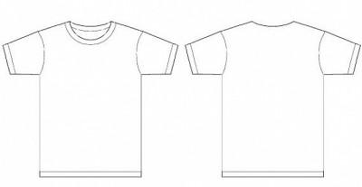 Plantilla camiseta