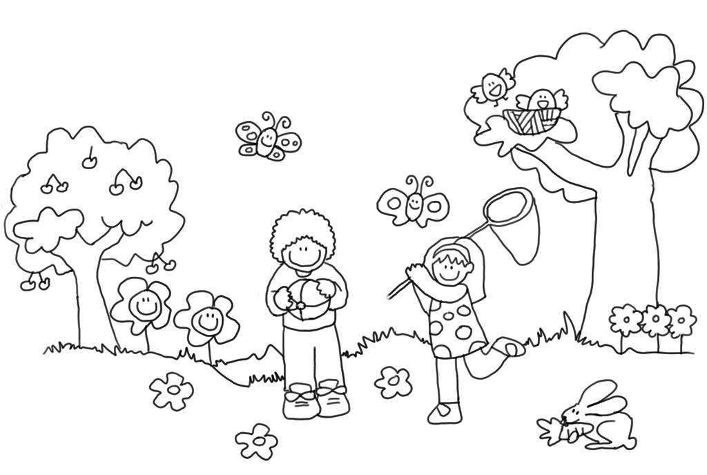 Primavera imagenes 168 imagenes educativas - Cenefas para dibujar ...
