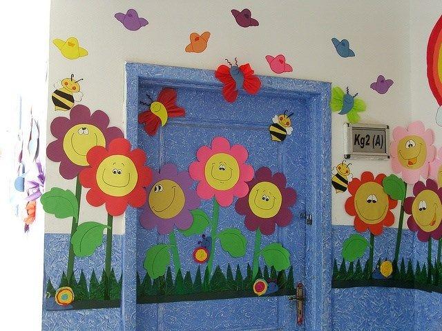 Primavera puertas 8 imagenes educativas for Decoracion para puertas de salon de clases