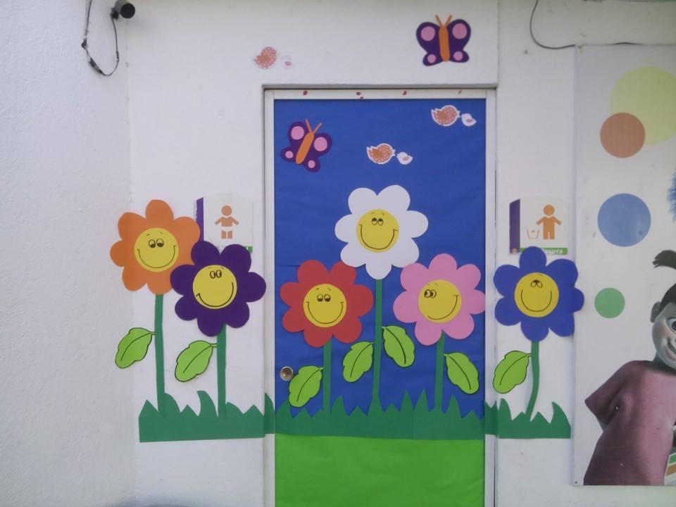 Puertas primavera 10 imagenes educativas for Decoracion de puertas de colegio