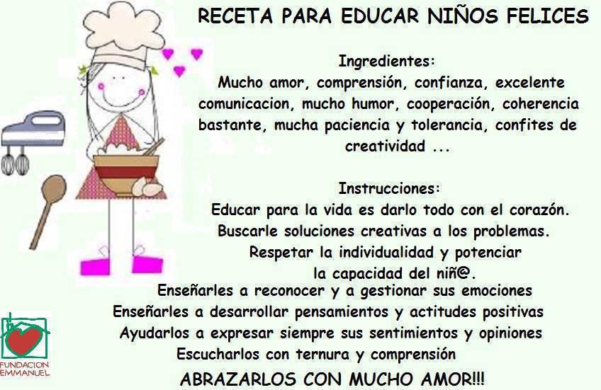 Receta para educar niños felices2