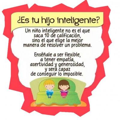 Si piensas que tu hijo es inteligente porque saca 10, estás obsoleto.