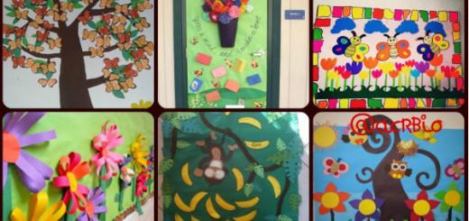ms de nuevas ideas para decorar el aula en primavera