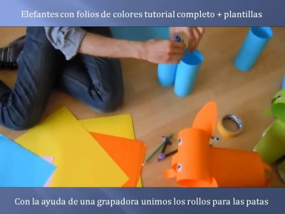 Elefantes con folios de colores tutorial (2)