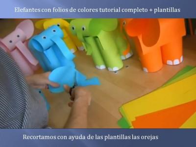 Elefantes con folios de colores tutorial (8)