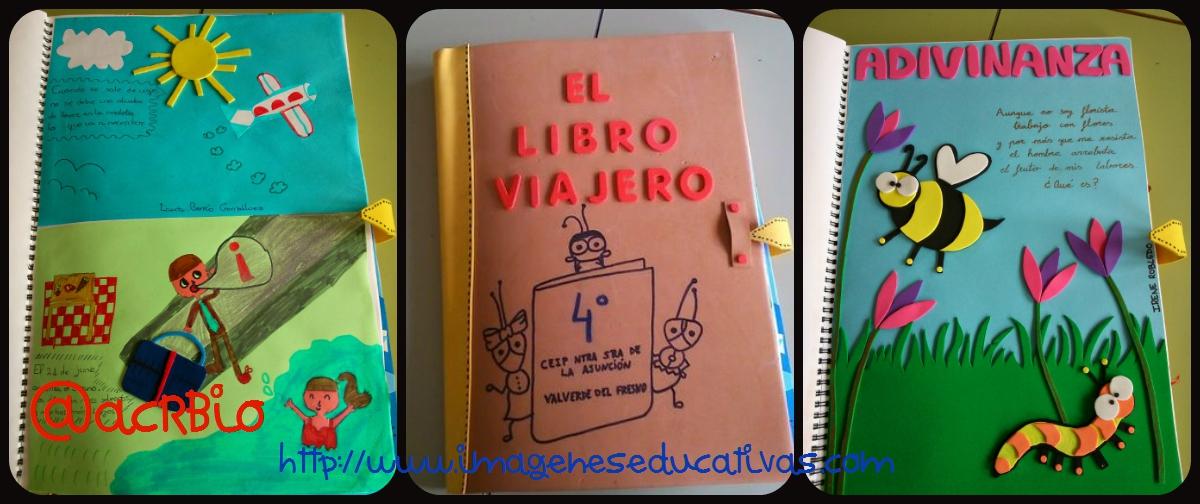 Libro viajero collage 2 imagenes educativas - Ideas libro viajero infantil ...
