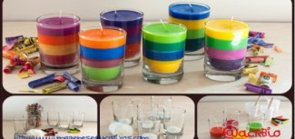 Reciclamos nuestras ceras y crayones para convertirlos en velas decorativas Portada