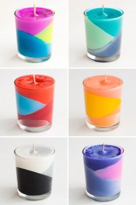 Reciclamos nuestras ceras y crayones para convertirlos en velas decorativas.  (10)