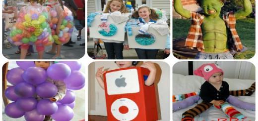 Disfraces caseros para niños Collage Portada