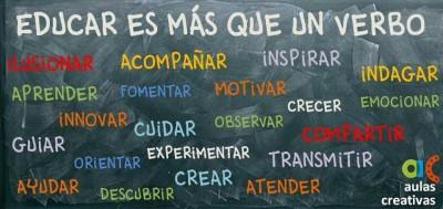 Educar es más que un verbo